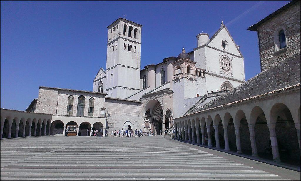 Assisi, Stadt in Umbrien des heiligen Franziskus. - Foto: privat.