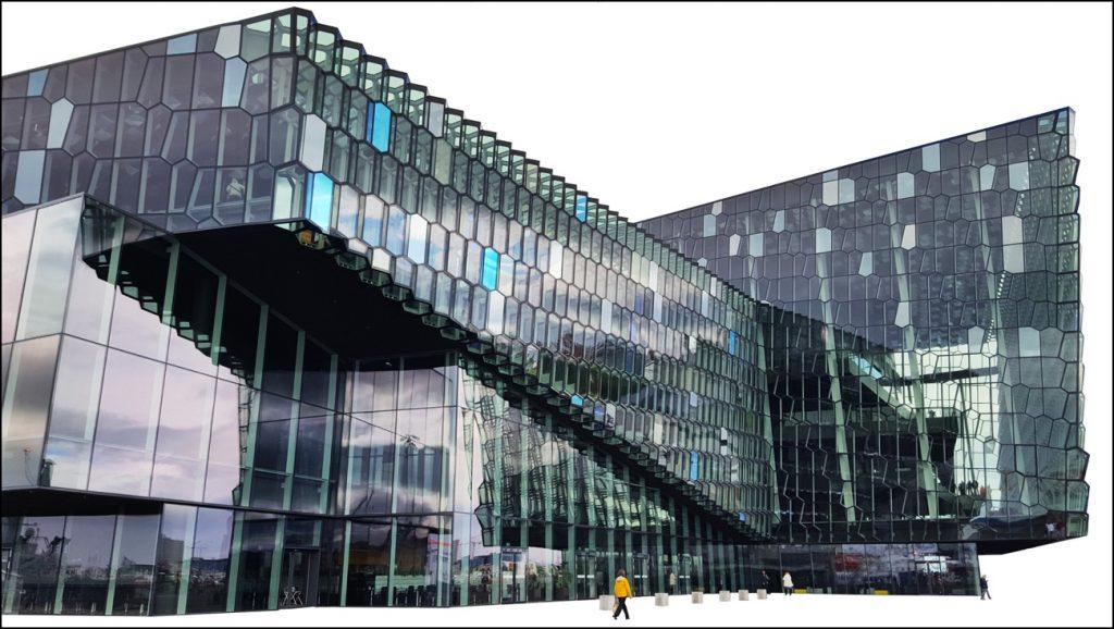 Konzerthaus Harpa in Reykjavik. - Foto: (c) Joachim Schwind