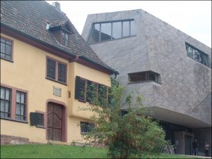 Das Bachhaus in Eisenach - alt und modern. - Alle Fotos: (c) Clemens Behr