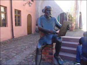 In einem der Cranach-Höfe.